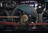 image of train-wheel  - Train wheels  or Transportation or Electronic of Thailand - JPG