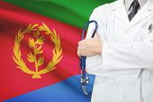stock photo of eritrea  - Concept of national healthcare system  - JPG