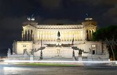 pic of emanuele  - Monument to Vittorio Emanuele II in the evening - JPG
