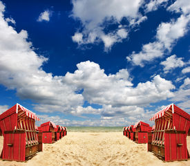 stock photo of sult  - typical scene on the Baltic Sea - JPG
