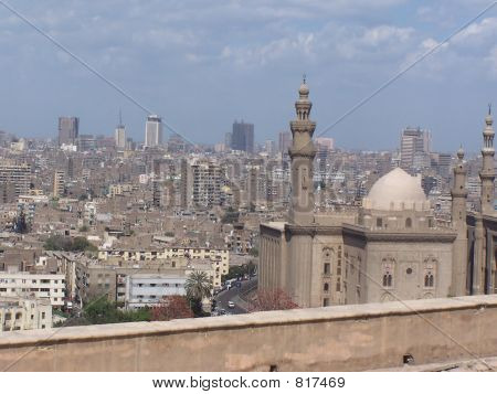 poster of Cairo City Skyline