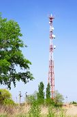 picture of relay  - Radio Relay Link Mobile Base Station of Mobile Operator (BTS)