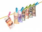 picture of dong  - Dollars, euro, rupiah, dong and rubles, ruble falls;