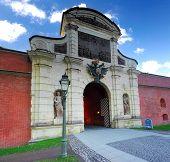 pic of sankt-peterburg  - Main Entrance Peter and Pavel Fortress Saint Petersburg - JPG