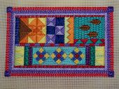 picture of stitches  - Brightly coloured - JPG