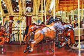 stock photo of carousel horse  - Carousel - JPG