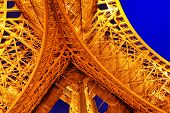stock photo of arch foot  - PARIS  - JPG