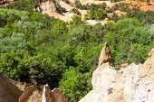 stock photo of natural phenomena  - Colorado Provencal - JPG