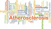 picture of atherosclerosis  - Background concept wordcloud illustration of atherosclerosis - JPG