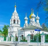 picture of nicholas  - The church of St Nicholas in Pyzhy located on Bolshaya Ordynka street in Zamoskvorechye District Moscow Russia - JPG