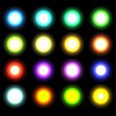 image of starlet  - vector glowing lights - JPG