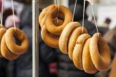 stock photo of bagel  - Traditional breads - JPG