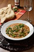 picture of flat-bread  - Soup Kharcho - JPG