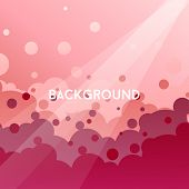 stock photo of dd  - background bubbles vector art abstract art dd - JPG