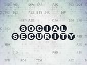 foto of social-security  - Protection concept - JPG