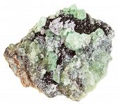 Постер, плакат: Druse Of Demantoid Crystals green Garnet