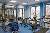 stock photo of sweatshop  - Health Club - JPG