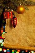 Постер, плакат: Рождественские огни абстрактные цвета фона