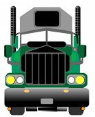 picture of delivery-truck  - Truck  - JPG