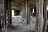 picture of katrina  - Inside destructed house after Hurricane Katrina - JPG