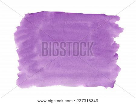 Abstract Texture Brush Ink Background Purple Violet Aquarel