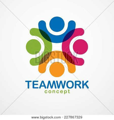 Teamwork And Friendship Concept Created