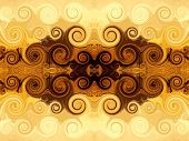 picture of tabriz  - fractal background - JPG