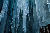 An Icicle Cave Melting In The Warmth Of A Fall Afternoon poster