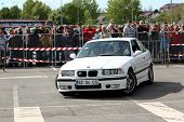Leiria, Portugal - April 22: Unknow Drive Drives A Bmw M3 During Leiria City Slalom 2012, In Leiria,