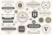 Vintage Sign Frames. Old Decorative Frame Design, Retro Ornate Label Elements And Luxurious Vintage  poster