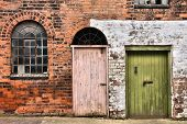 picture of west midlands  - Window and doors in old warehouse - JPG