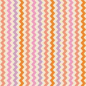 Chevron seamless vector colorful pattern or background with zig zag violet, pink and orange stripes