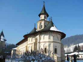 foto of suceava  - Putna Monastery built at the behest of Prince Stephen the Great near Suceava - JPG