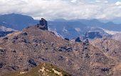 foto of parador  - Gran Canaria Caldera de Tejeda Roque Bentayga  - JPG