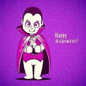 foto of dracula  - Cute baby vampire Dracula young - JPG