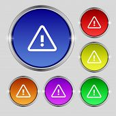 picture of hazard symbol  - Attention caution sign icon - JPG