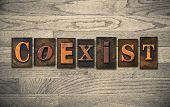 picture of coexist  - The word  - JPG