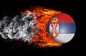 foto of serbia  - Concept of speed  - JPG