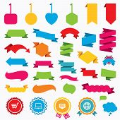 image of internet shop  - Web stickers - JPG