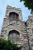 picture of illinois  - Belfry of the First Presbyterian Church in Morris, Illinois ** Note: Visible grain at 100%, best at smaller sizes - JPG