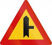 stock photo of priorities  - Icelandic danger warning sign - JPG