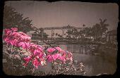 picture of canary-islands  - Bridge over canal in the Puerto de Mogan - JPG