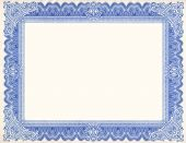 picture of certificate  - Old certificate border great for awards and backgrounds - JPG