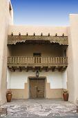stock photo of hacienda  - entrance to a Hacienda in New Mexico - JPG