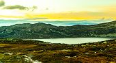 The Scandinavian Mountains In Norway And The Region Of Telemark poster