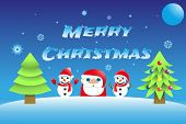 Merry Christmas Background, Xmas Illustration, Winter , Snow, Flake , Holiday, poster