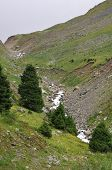 image of lithosphere  - mountains The mountains of the Tien Shan - JPG
