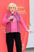 LOS ANGELES, CA - JUN 4: Betty White at the unveiling of Betty White's wax figure at Madame Tussauds