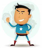 Постер, плакат: Персонаж комиксов Superhero