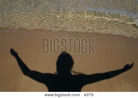 Shadow On The Beach poster